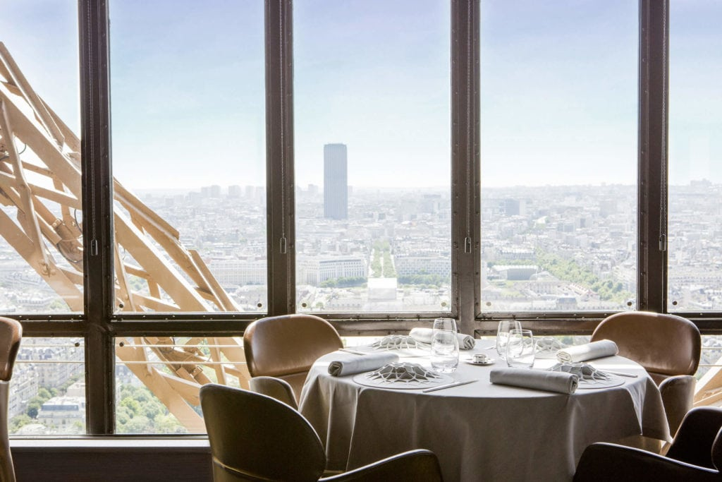 The Surreal Picturesque Experience Of Dining Inside The Eiffel Tower